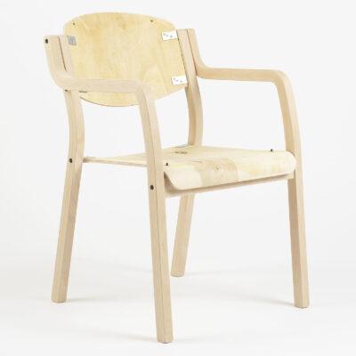 Štvorcová stolička Luke